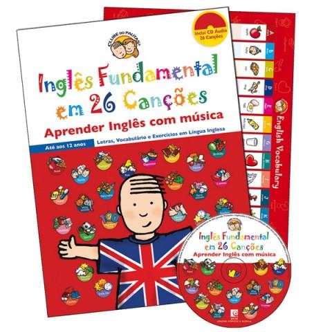 Inglês Fundamental em 26 Canções